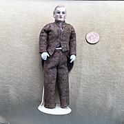 C.1920 German Bisque Doll House Butler