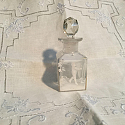 Petite Late 19c. Mary Gregory Perfume for Your Large Doll