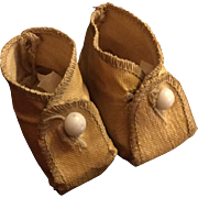 Unusual Oilcloth Baby Doll Shoes