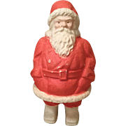 Early 20c. Papier Mache Santa Claus Candy Container