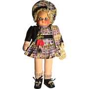 1940s Georgene's Nu Art Doll -Scotland-All Original