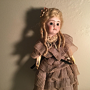 """11"""" French Young Lady Doll c.1915-20"""