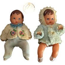 Two Ari East German Wee Baby Dolls