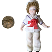 Tiny Shirley Temple Artist Doll