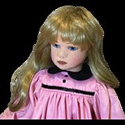 """Lovely 24"""" Felt and Cloth Artist Doll"""