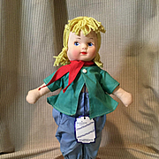 "12"" Georgene Novelties ""Hansel"" Doll w/tag"