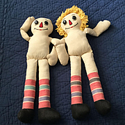 Vintage Raggedy Ann and Andy to Complete
