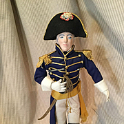 Artist Doll Of an Admiral-Hand done