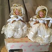 Pair of NASB Easter Girls & Boxes