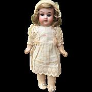 "Cute 9"" Armand Marseille cabinet antique Bisque Doll All Original"