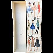 #1 Barbie Doll Original Box Nice Shape