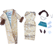 Barbie Evening Splendor Outfit 1960's Complete and Near Mint!!