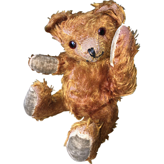 Adorable antique Jointed Mohair Teddy Bear