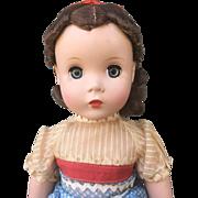 Madame Alexander hard plastic Beth Little Women Mint All Original