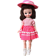 American Character Betsy McCall High Color Doll All Original Brunette