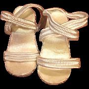 Madame Alexander Cissette doll shoes 1950's