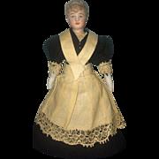 Antique bisque Dollhoise Doll Parlour Maid