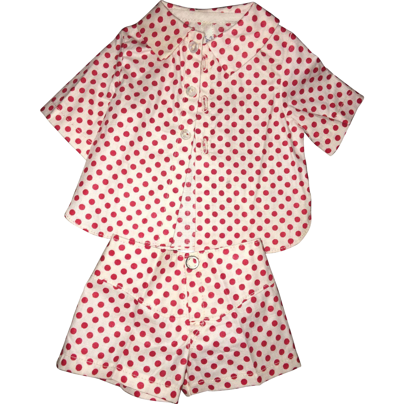 Jerri Lee 1950's two piece outfit mint!