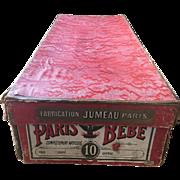 Antique Jumeau Doll Original Box Paris Bebe