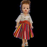 """Ideal Little Miss Revlon Doll Original Clothes 1950's 10 ½"""""""