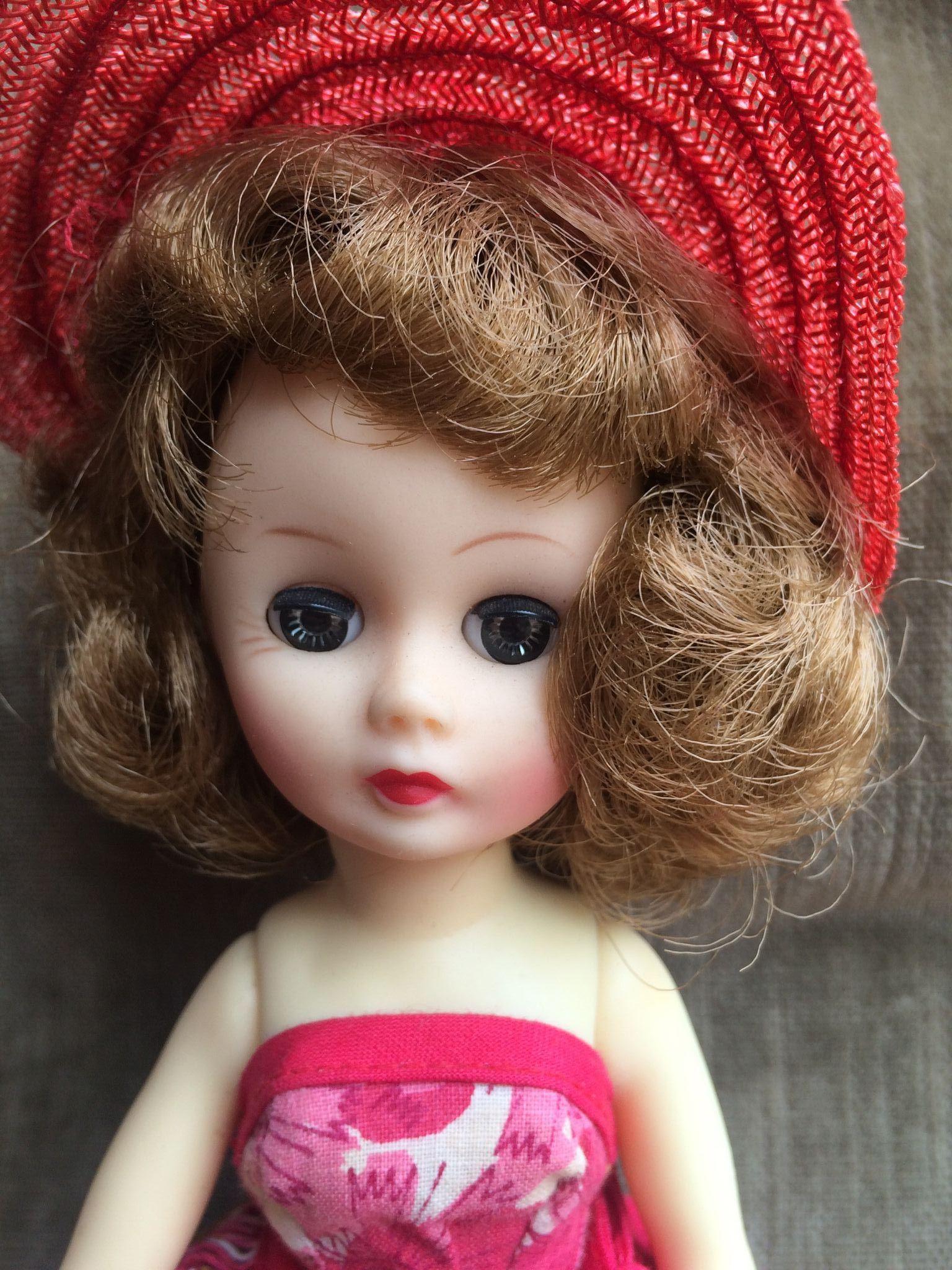 Little Miss Muffett Pretty Cute Doll Clothes Pattern 18: Little Miss Nancy Ann Doll All Original From