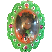 Rare Lois Locket Liddle Kiddle green Variation