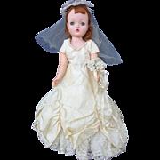 Madame Alexander Cissy Doll 1950's Fancy hairdo
