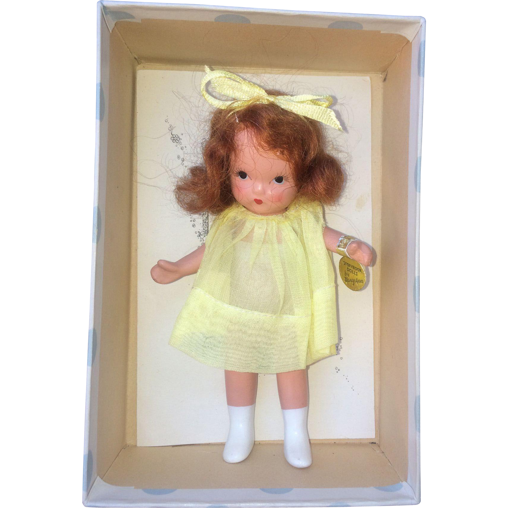 Nancy Ann Storybook Doll Margie Ann Mint in box