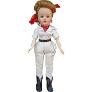 Miss Nancy Ann Doll All Original Riding Outfit 1950's Storybook