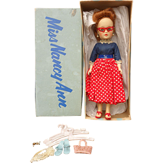 Nancy Ann Storybook Miss Nancy Ann Doll Mint in Box