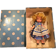 Molded Sock Nancy Ann Storybook Doll MIB