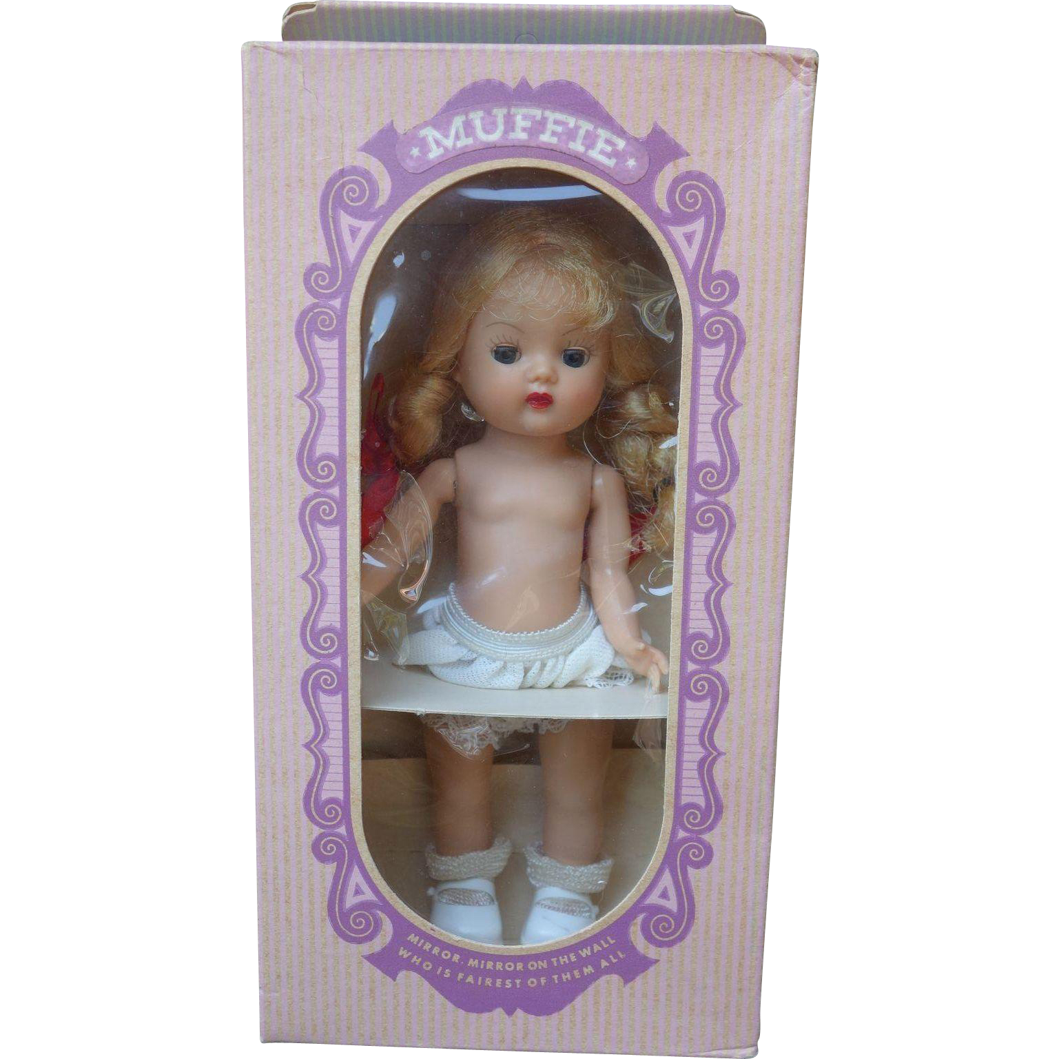 Gorgeous Muffie Doll 1950's Nancy Ann Storybook Mint in Rare Box