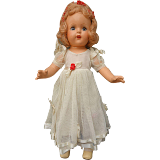"Beautiful Near Mint Princess Elizabeth 16"" Doll All Original Tagged"