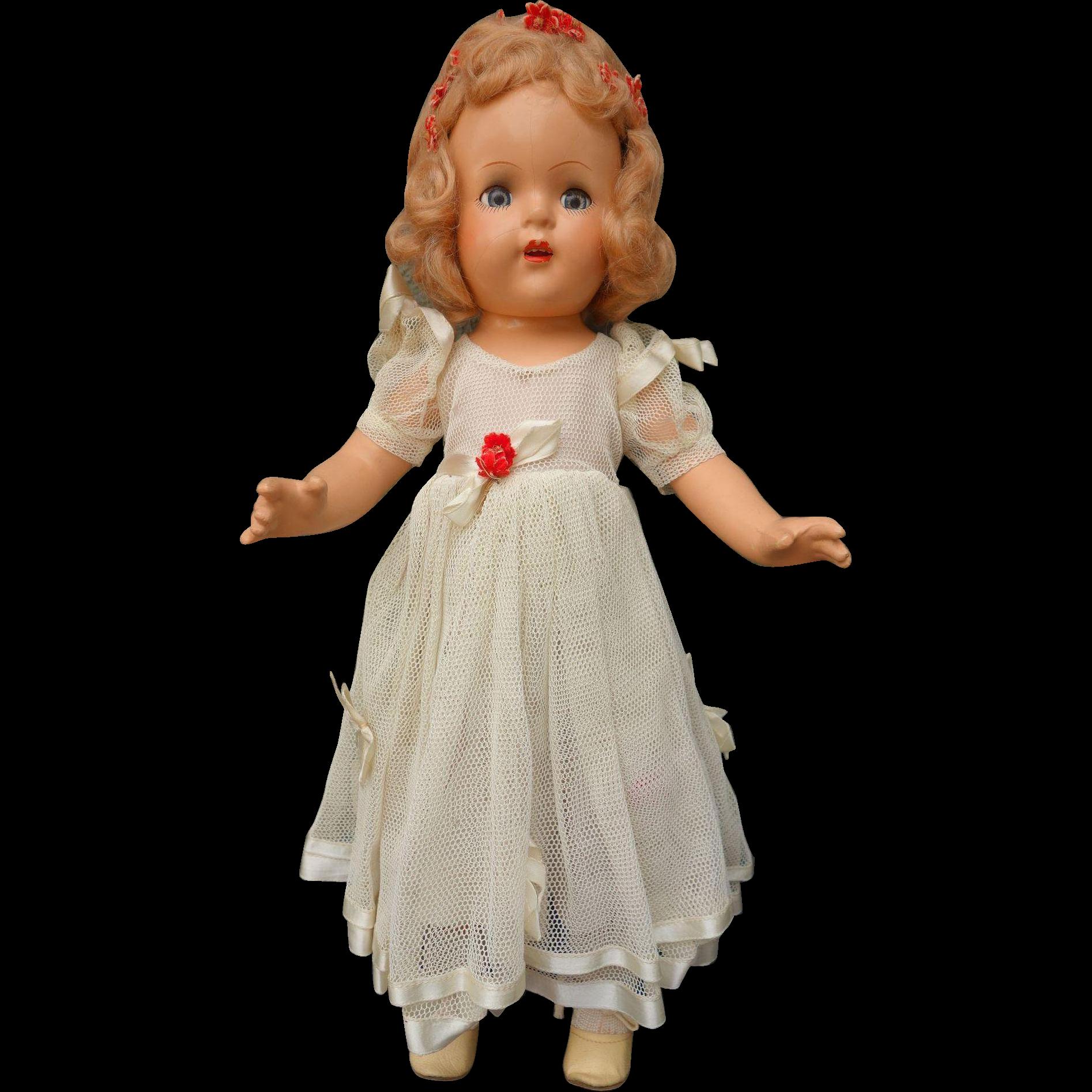"Beautiful Near Mint Princess Elizabeth 16"" Doll All Original Tagged"