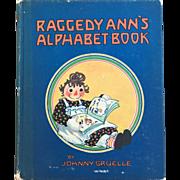Raggedy Ann's Alphabet Book Johnny Gruelle 1925