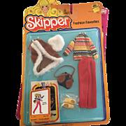Vintage Barbie Skipper doll Winter Warmth Outfit MIP 1978