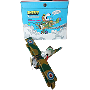 Mattel Snoopy Skediddler with Sopwith Camel LIddle Kiddle