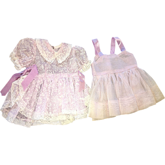 Two piece Terri Lee doll vintage outfit nice!
