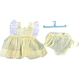 Terri Lee dress, Panties and hanger 1950's