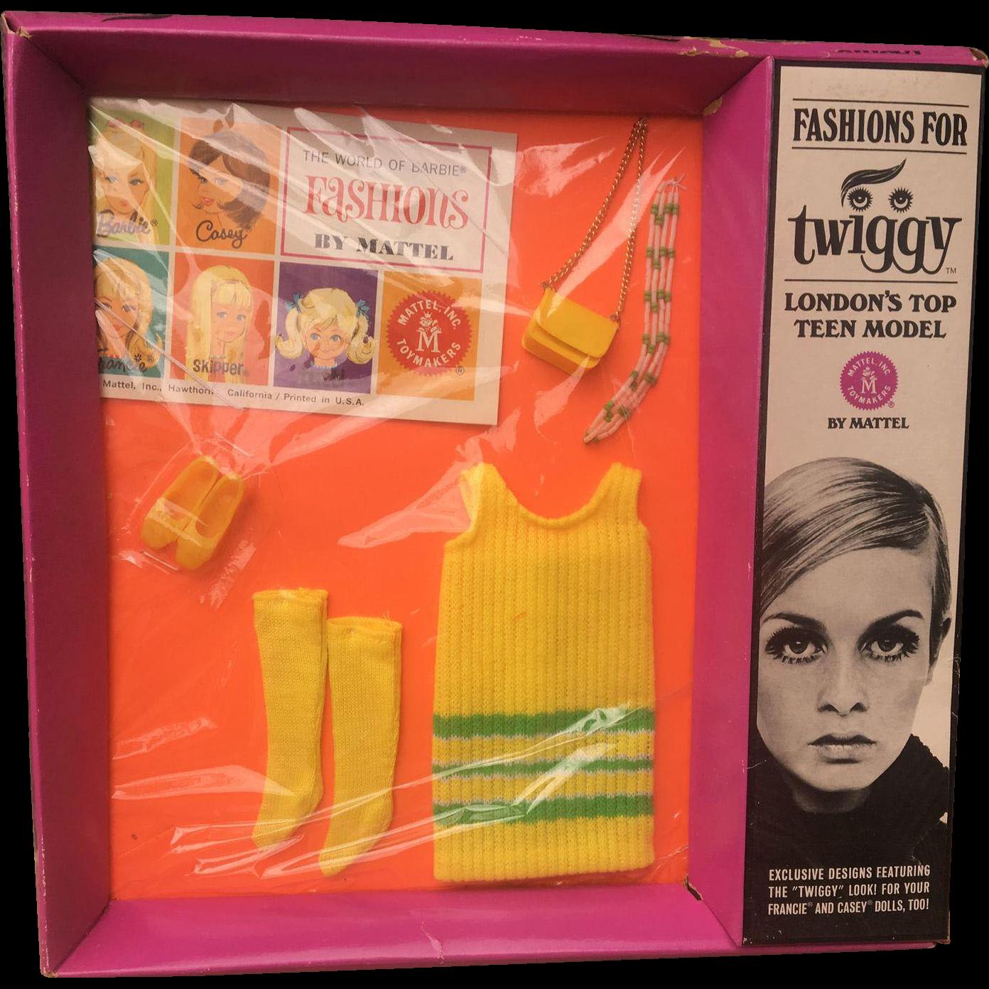 Twiggy Doll 1960's outfit Twiggy-Do's NRFB
