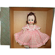 1950's Madame Alexander Beth Little Women Doll Mint, Tagged, in Box