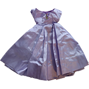 Lovely Lavender tagged Cissy Doll dress 1950's Madame Alexadner