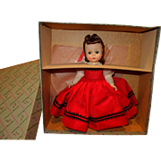 Madame Alexander Jo Little Women Early Doll Mint in Box