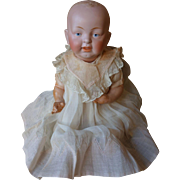 "Antique Bisque 15"" Baby Doll Kestner or Kely and Hahn"