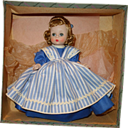 1950's Little Women Meg Madame Alexander Mint in Box Gorgeous!