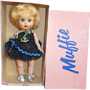 Nancy Ann Storybook Muffie Doll in Original Box with Original Outfit