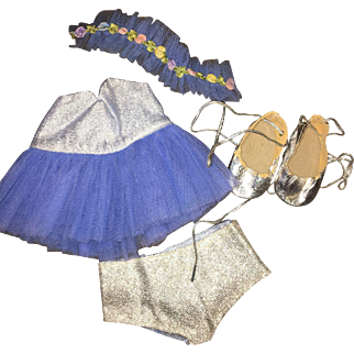 """1950's Terri Lee Doll Ballerina Outfit for 16"""" doll"""