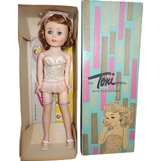 Gorgeous American Character Toni Doll MINTY MINT in box