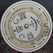Negretti & Zambra Pocket Weather Forecaster