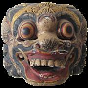 Old Balinese Boma Demon Mask